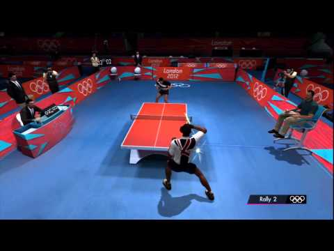 London 2012 Official Olympic Video Game - Men's Table Tennis Qualifying