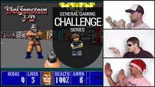 """Wolfenstein 3d """"Speed Run"""" (25th Anniversary) General Gaming Challenge EP03"""