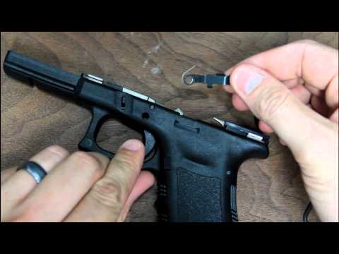 How To Remove A Glock Slide Stop / Release