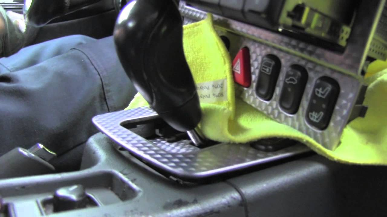 Mercedes SLK Removing Central Console YouTube