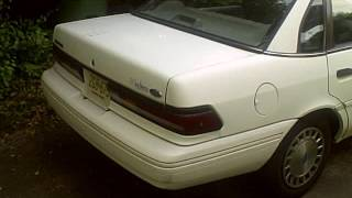 1993 Ford Tempo In Depth Review & Tour Part 1