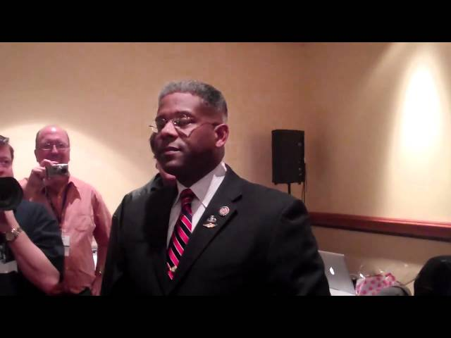 Lt. Colonel Allen West Addresses Bloggers at CPAC 2011