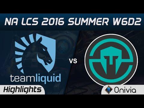 TL vs IMT highlights Game 3 NA LCS 2016 Summer W6D2 Team Liquid vs Immortals