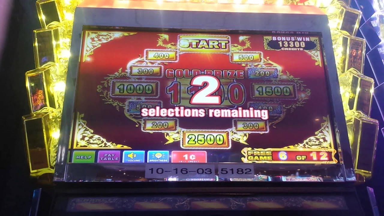 where is the gold slot machine