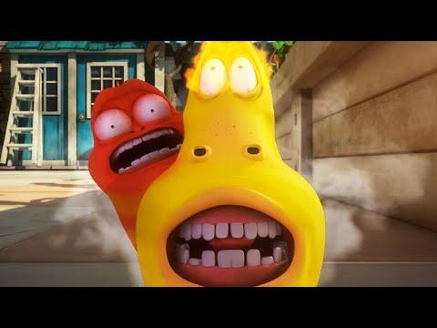 LARVA   A CORRIDA   2018 Filme completo   Dos desenhos animados   Cartoons Para Crianças