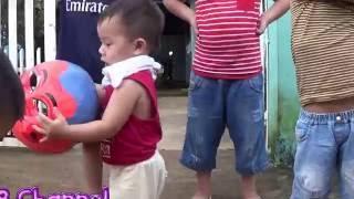 [kb channel] Thiên Tài Đánh Trống 2 Tuổi - danh trong mua lan cuc dinh-lion dance drumming