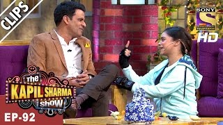Sarla has a blast with Manoj Bajpayee - The Kapil Sharma Show - 25th Mar, 2017