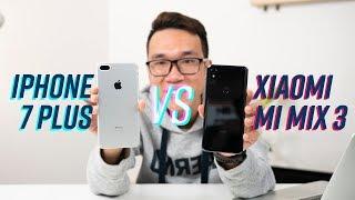 12 triệu mua flagship mới hay cũ? Mi Mix 3 vs iPhone 7 Plus