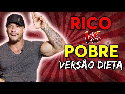 DIETA DE RICO VS  DIETA DE POBRE - LEO STRONDA