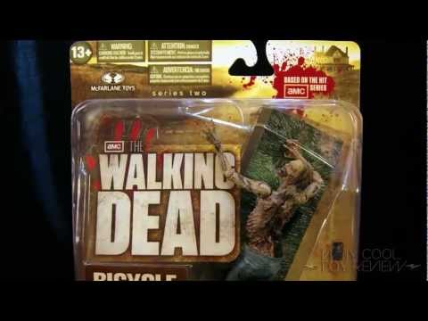 The Walking Dead Bicycle Girl Zombie Figure Review From Way Cool News