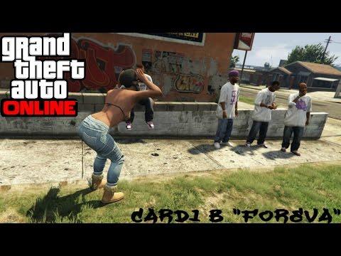 GTA Online ((Music Video)) Cardi B