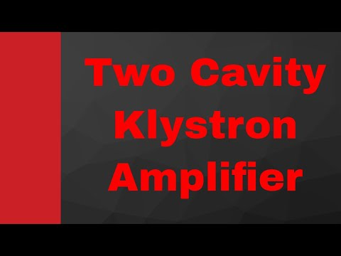 Two cavity Klystron Amplifier's (Working, Amplification and Applegate diagram) by Engineering Funda thumbnail