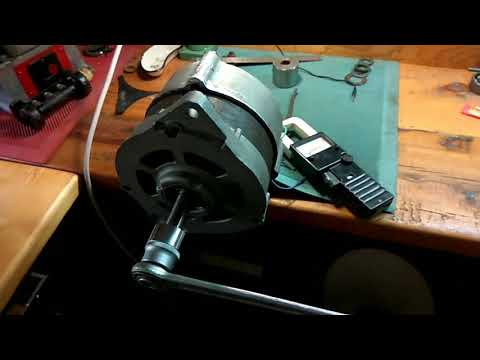 Ветрогенератор из автомобильного генератора своими руками 200