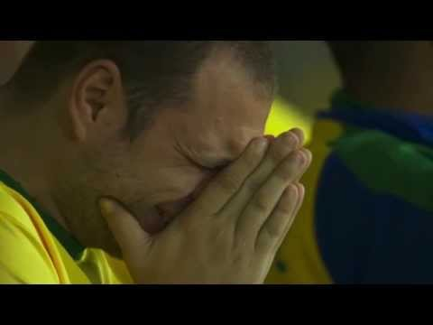 Crying Brazilian fans - Brazil vs Germany 1-7 | Semifinal FIFA World Cup 2014