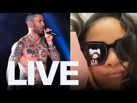 Rihanna Reacts To Maroon 5's Super Bowl Performance  ET Canada