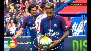 Neymar Jr ⚽ 2 Goals (1 Penalty) & 1 Assist for Cavani Vs Bordeaux ⚽ 2017-2018 ⚽ HD #Neymar #PSG