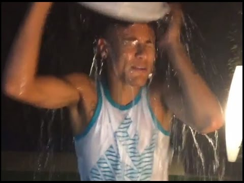 Neymar Accepts Challenge and Nominate ... Ice Bucket.