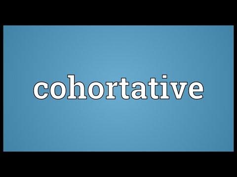 Header of cohortative