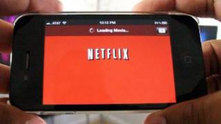 Netflix for the iPhone