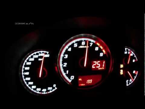 Toyota GT 86 2012 - acceleration 0-225 km/h + Vmax test