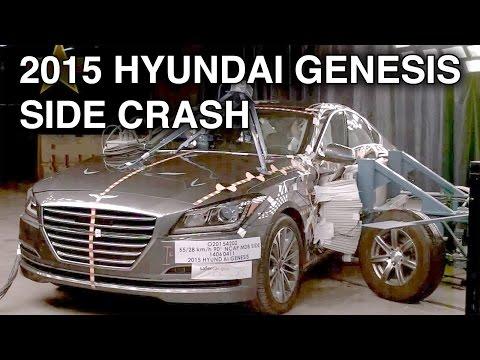 2015 Hyundai Genesis | Side Crash Test | CrashNet1
