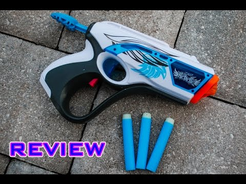 [REVIEW] Nerf Rebelle Lumanate Blaster Unboxing, Review, & Firing Test