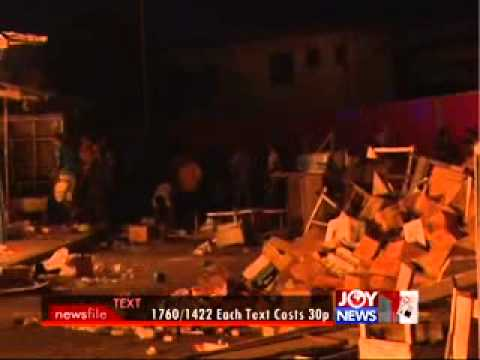 Market Fire Victims Grant - Newsfile on Joy News (17-8-13)