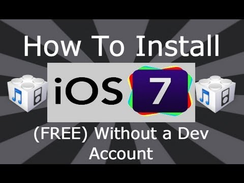 How To Install NEW iOS 7 Beta 3 (FREE) Without A Dev Account Or UDID
