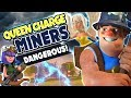 DANGEROUS! Queen Charge + MINERS are SLAYING!