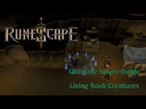 RuneScape – Ultimate Slayer Guide 2013 (Living Rock Creatures)