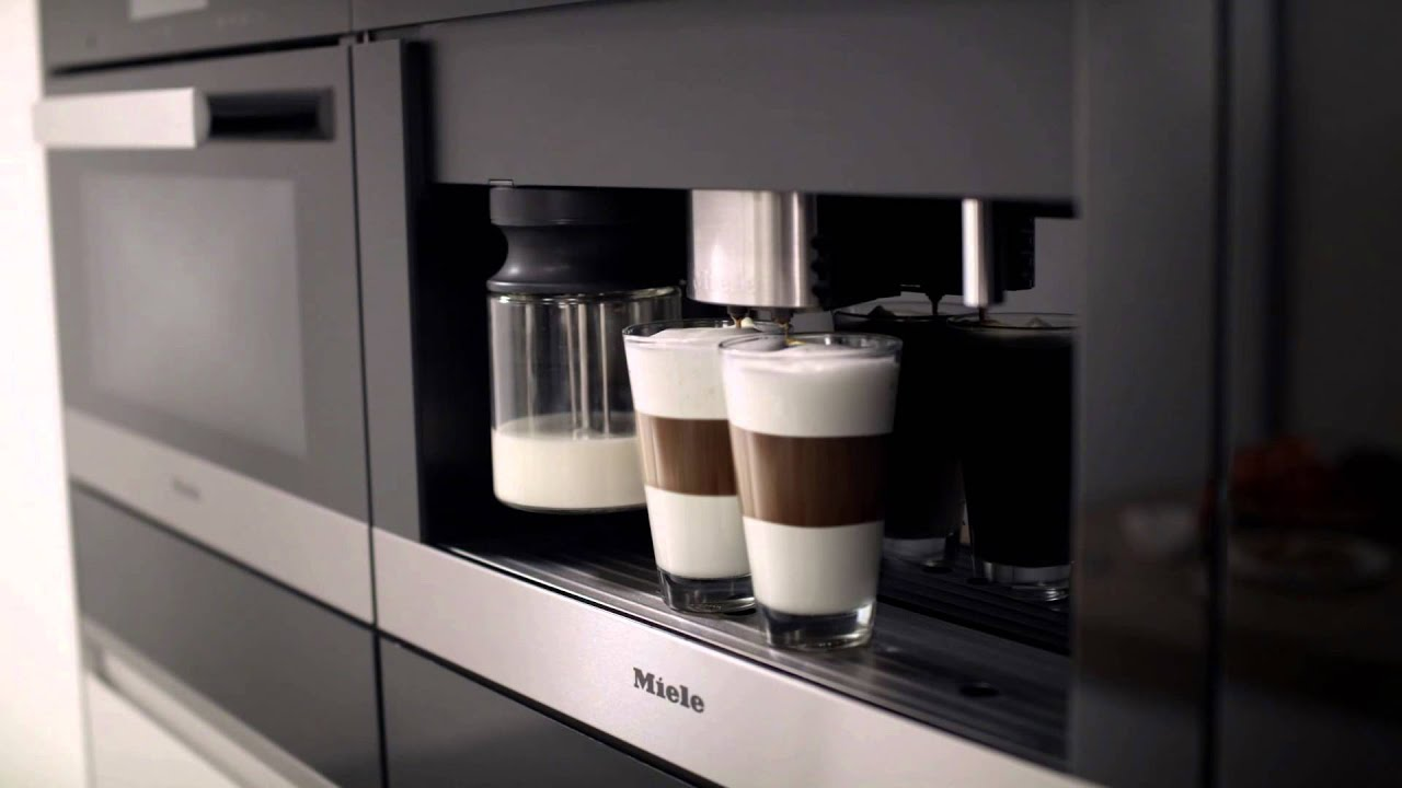 Miele Coffee Machines Easy Click Feature Youtube