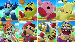 All Character Screen KOs in Super Smash Bros. Ultimate