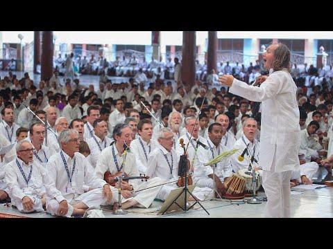 Programme by Devotees from Zone 7, International Sri Sathya Sai Organisation.