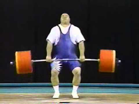 Chemerkin Clean and Jerk Olympic Weightlifting World Record Atlanta 1996 Image 1