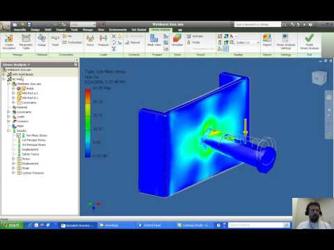 Optimizing stress analysis calculations in Inventor 2010