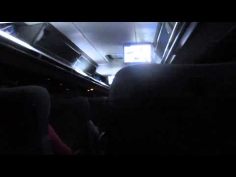 Taking the overnight long distance bus from Arequipa to Cusco, Peru - September 19, 2014