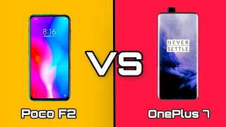 Oneplus 7 VS Pocophone F2 - Full Comaprison |  वनप्लस 7 VS पोको F2