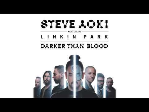 Steve Aoki feat. Linkin Park - Darker Than Blood (Cover Art)