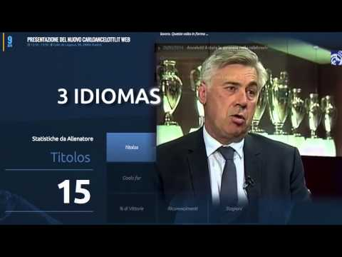 CARLO ANCELOTTI WEB AND SOCIAL MEDIA