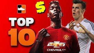 Top 10 World Record Transfers | #Pogba, #Ronaldo, #Bale & More!