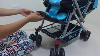 How to assemble and use functions of IRDY Stroller code S0829A - 2