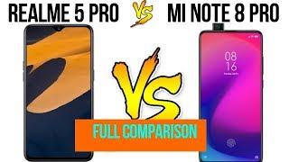 realme 5 pro vs redmi note 8 pro || full comparison