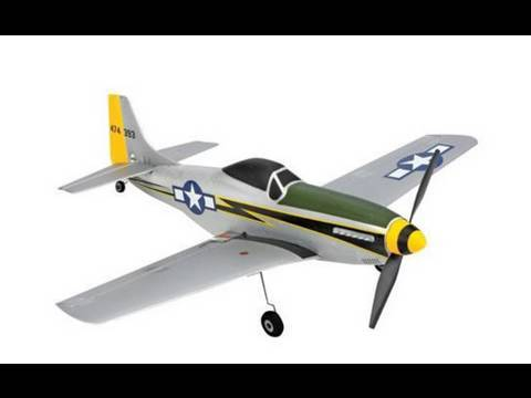 Ultra-Micro RC P-51 Mustang Review By Eric