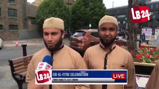 Eid Celebration in London 2017