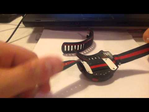 Garmin Forerunner 110 / 210 - DIY wristband REPAIR