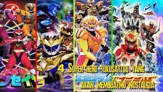 4 Superhero Tokusatsu Yang Akan Membuat Kalian Nostalgia!