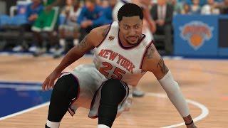 NBA 2K17 PS4 My Career - Derrick Rose Is Leaning!