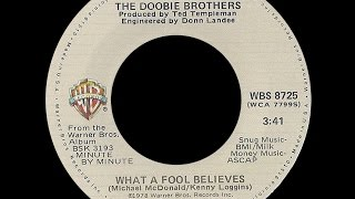 The Doobie Brothers ~ What A Fool Believes 1978 Disco Purrfection Version