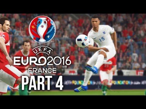 Euro 2016 Gameplay Walkthrough Part 4 - SQUAD UPDATED (PES 2016 UEFA EURO 2016)