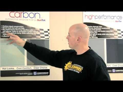 SunStoppers: How to Tint a Car Window